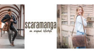 "Going back to Uni? The Scaramanga Messenger Bag is durable, stylish and made smart. Its Perfect. (15% Student Discount Code is ""student15"")  www.scaramangashop.co.uk   FACEBOOK 