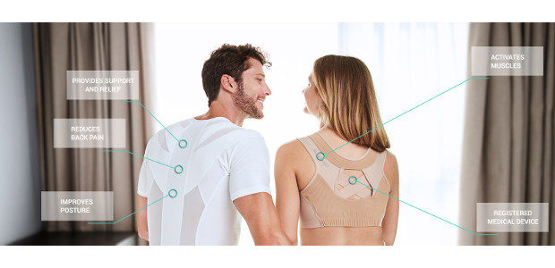 Give the gift of posture this Father's Day with Active Posture. The T-Shirt which reduces and prevents back pain! www.activeposture.co.uk FACEBOOK Active posture and their Posture Shirt 2.0, a medically […]